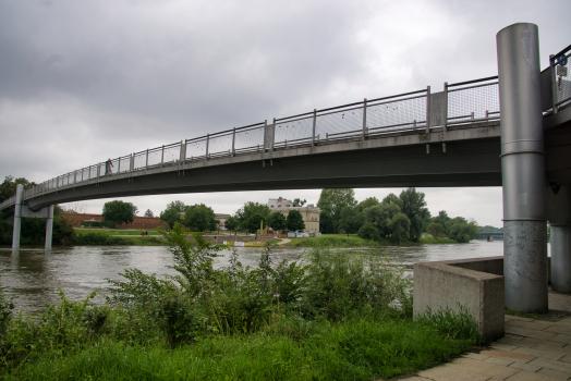 Passerelle sur le Danube