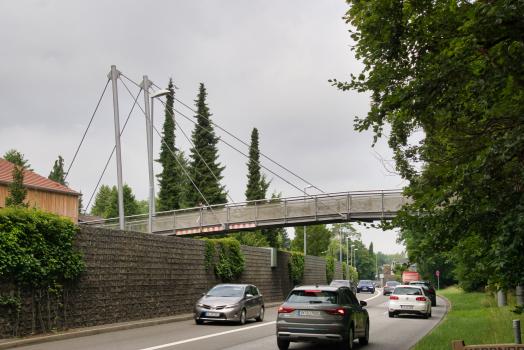 Passerelle sur la ceinture ouest d'Ingolstadt