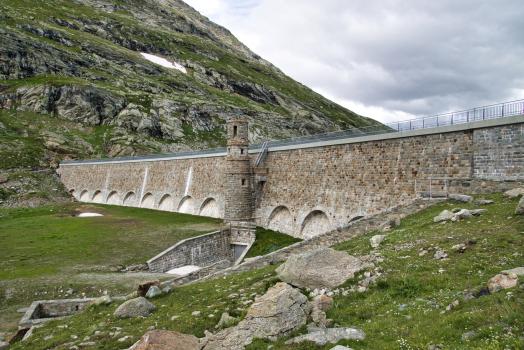 Talsperre Lago Bianco Süd