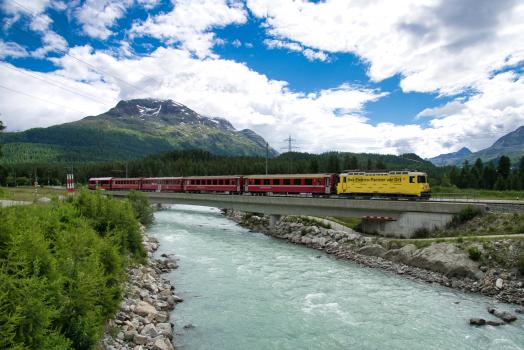 New Flaz River Rail Bridge