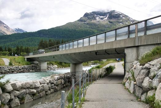 Neue Flazbrücke Samedan