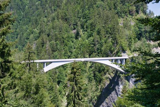 Pont sur la Gorge de la Salgina