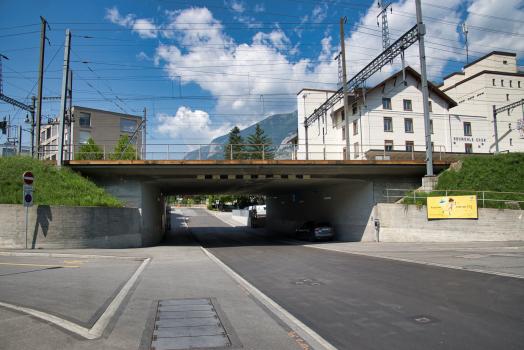 Passage supérieur férroviaire sur la Gürtelstrasse