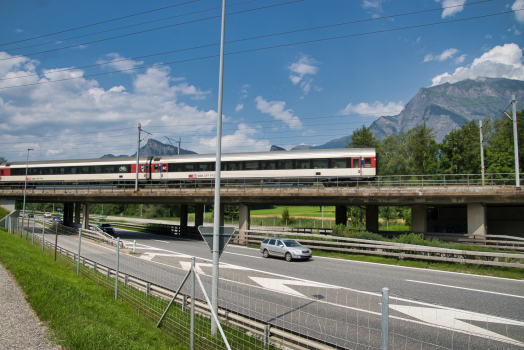 Maienfeld Rail Overpass