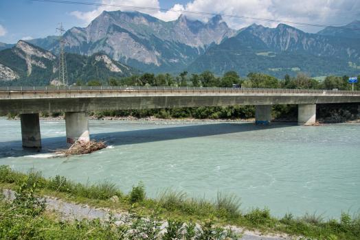 Rheinbrücke Bad Ragaz II