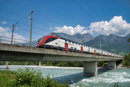 Bad Ragaz Rail Bridge
