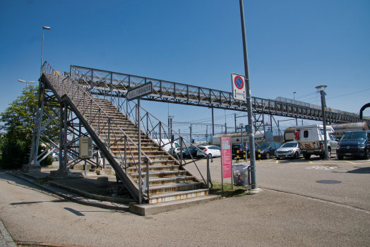 Passerelle de la gare de Rapperswil