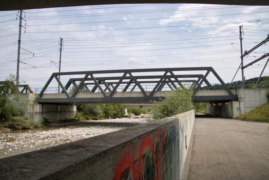 Bahnbrücken Reusszopf (Süd)