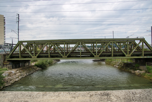 Bahnbrücken Reusszopf (Nord)