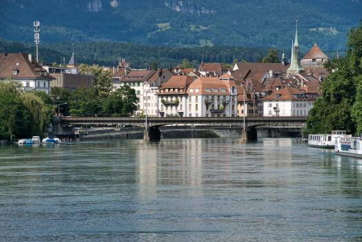 Eisenbahnbrücke Solothurn