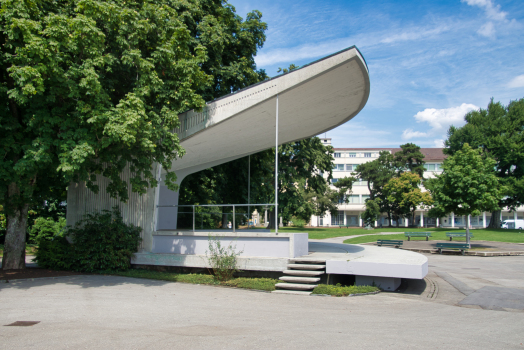Jardin du Rivage Pavillion