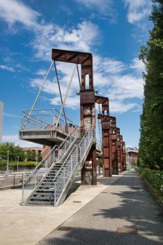 Parco Dora Footbridge