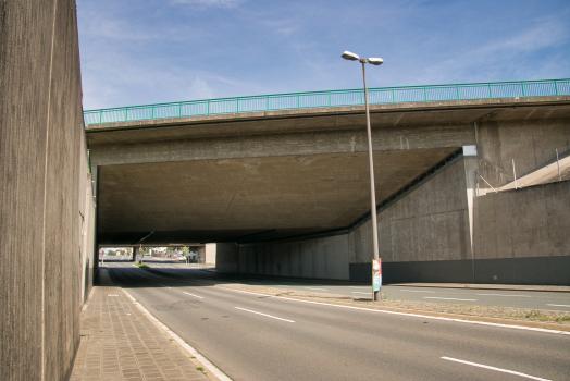 Pont-canal sur la Schwabacher Strasse
