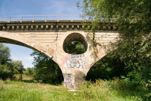 Pont ferroviaire sur la Pegnitz