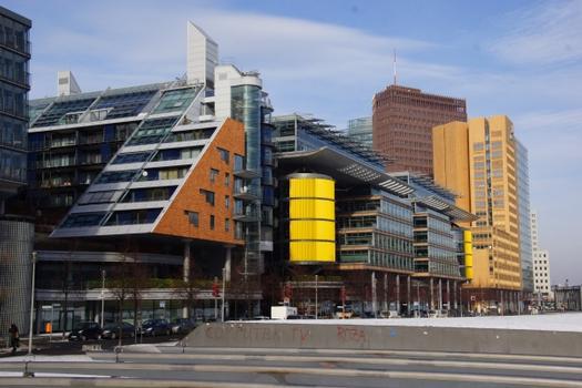 Daimler Chrysler Quartier, Office Block Linkstraße A, Wohnhaus Linkstraße