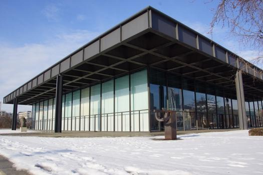 Neue Nationalgalerie, New National Gallery, Nouvelle galerie nationale