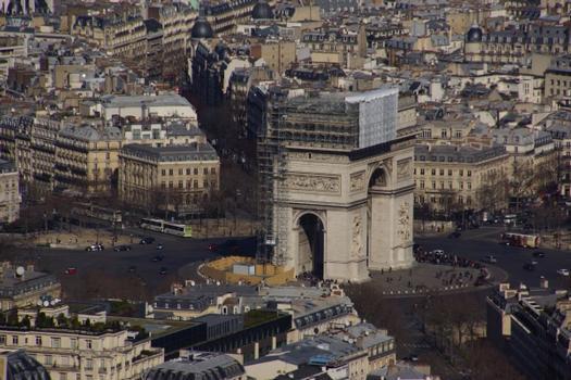 Arc de Triomphe, Arc de Triomphe de l'Etoile