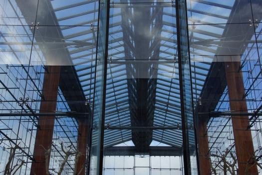 Large Parc André Citroën Greenhouses