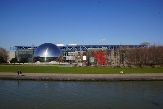 Parc de la Villette, La Géode, Cité des Sciences et de l'Industrie