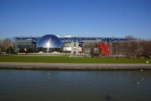 La Géode, Cité des Sciences et de l'Industrie, Parc de la Villette