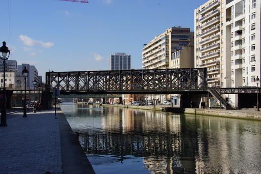 Petite Ceinture Ourcq Canal Bridge