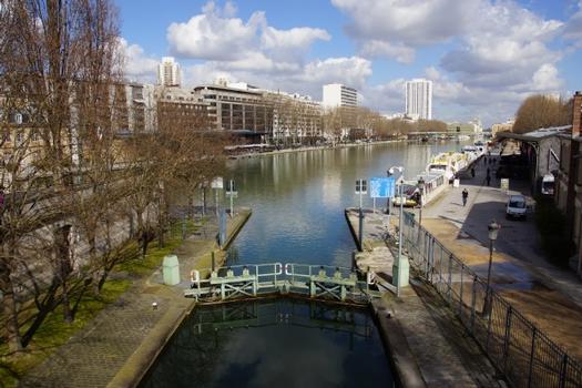 Schleusen La Villette, Wasserbecken La Villette