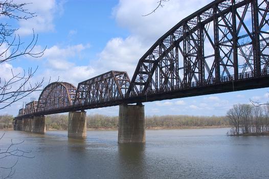 Kentucky & Indiana Terminal Railroad Bridge, Louisville (Kentucky) & New Albany (Indiana)