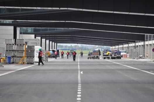 Aérogare de l'aéroport international de Berlin Brandenburg