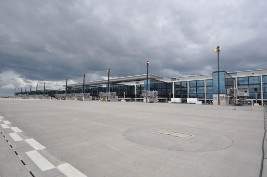Aérogare de l'aéroport international de Berlin Brandenburg