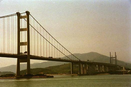 Tsing Ma Bridge, Hong Kong.
