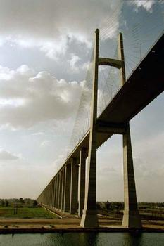 Brücke über den Suezkanal