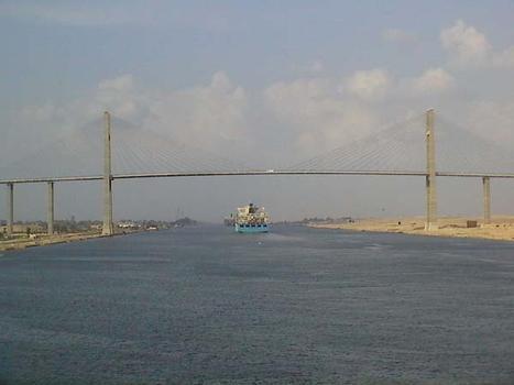 Pont sur le Canal de Suez