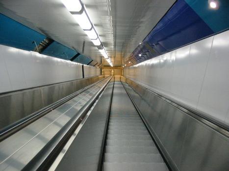 Fußgängertunnel RendsburgRolltreppe Süd