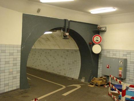 Fußgängertunnel RendsburgTunnelportal Süd