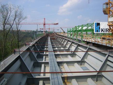Lockwitztalbrücke, Wiederlager Südost