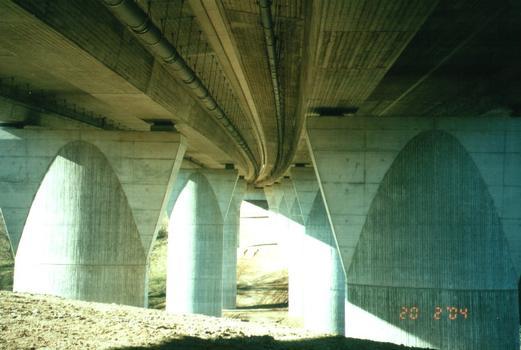 Autobahn A17 Nöthnitzgrundbrücke
