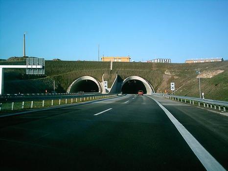 Tunnel Coschütz, Tunneleinfahrt Süd