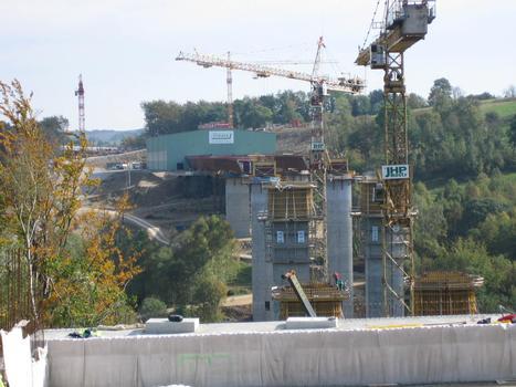 Grenzbrücke Schönwalder Bach, von deutscher Seite aus gesehen