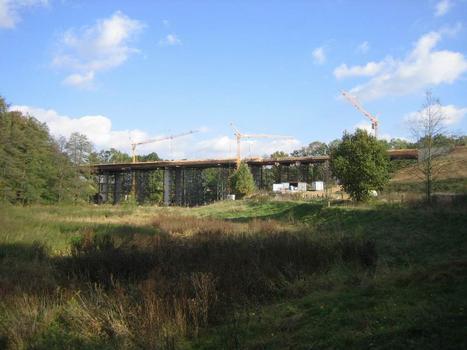 Brücke der S177 über das Tal der Schwarzen Röder