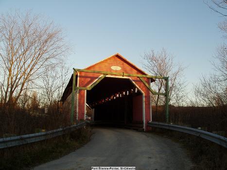 Pont Étienne-Poirier, St-Célestin, Québec, Canada