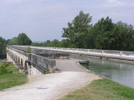 Pont canal d'Agen, Agen, Lot et Garonne