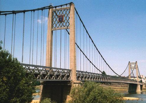 Hängebrücke über die Loire in Ancenis
