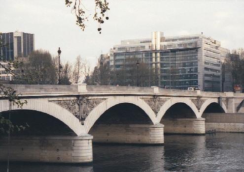 Pont d' Austerlitz (pont-route), Paris, Seine