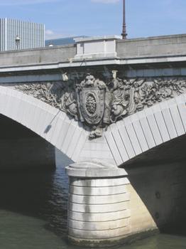 Pont d' Austerlitz (Détail) (pont-route), Paris , Seine