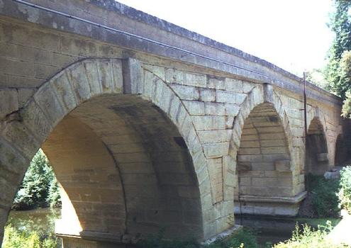 Roman bridge at Boisseron (Hérault).