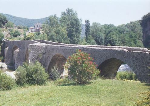 Pont des Camisards (pont-route), Mialet, Gard