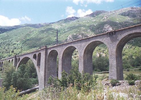 Pont du Saut (pont-rail), Carol, Pyrénées Orientales