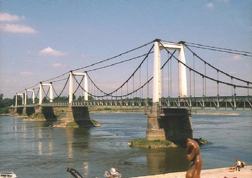 Loirebrücke Montjean-sur-Loire (1949)