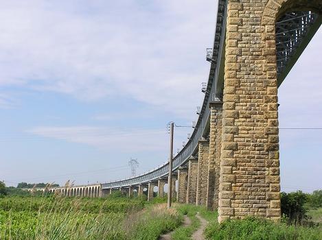 Eisenbahnbrücke Cubzac