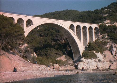 Pont de la Calanque des Eaux Salées (Carry-le-Rouet, 1914)
